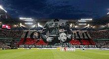 UEFA nie ukarała Legii za oprawę