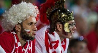 Kulisy meczu Anglia - Polska (WIDEO)