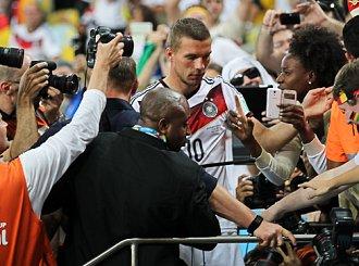 Piękne pożegnanie Podolskiego z reprezentacją Niemiec!