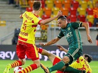 Podział punktów w meczu Jagi ze Śląskiem