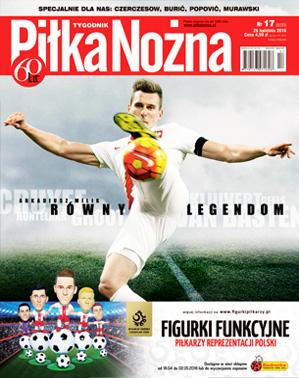 Piłka Nożna - tygodnik - prenumerata kwartalna już od 4,50 zł